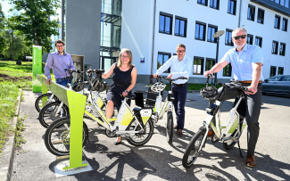 E-Bike Verleihstation RWU Welfencampus