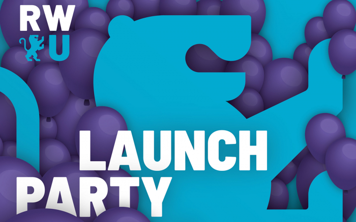 Plakat RWU Launch Party