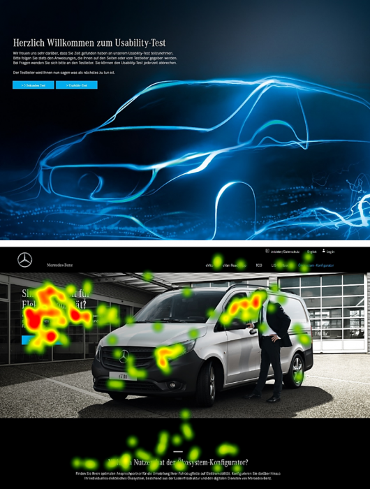 Eye Tracking Usability Mercedes Benz